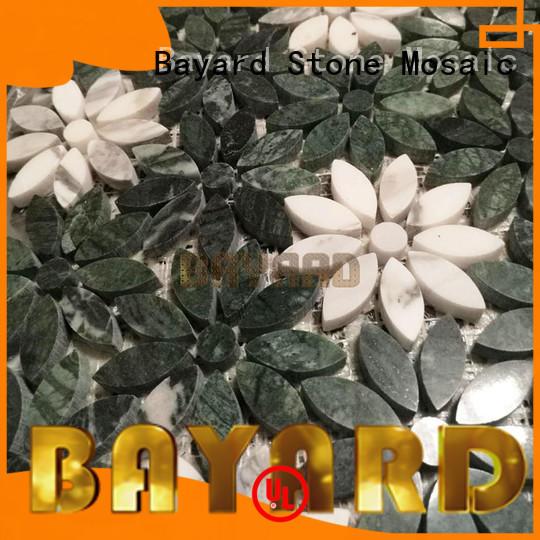 mosaic grey brick mosaic tiles floor for bathroom Bayard
