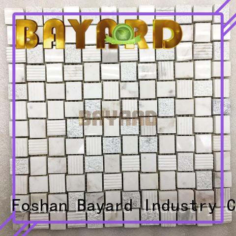 Bayard hexagan 2x2 ceramic mosaic tile marketing for foundation