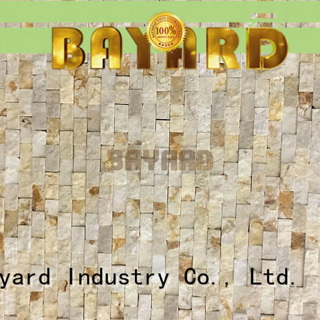 Bayard cool stone wall mosaic from china for hotel lobby