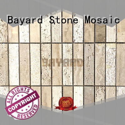 Bayard tiles travertine mosaic floor tile in china for decoration