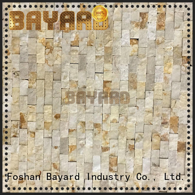 Bayard widely used grey mosaic wall tiles factory price for bathroom
