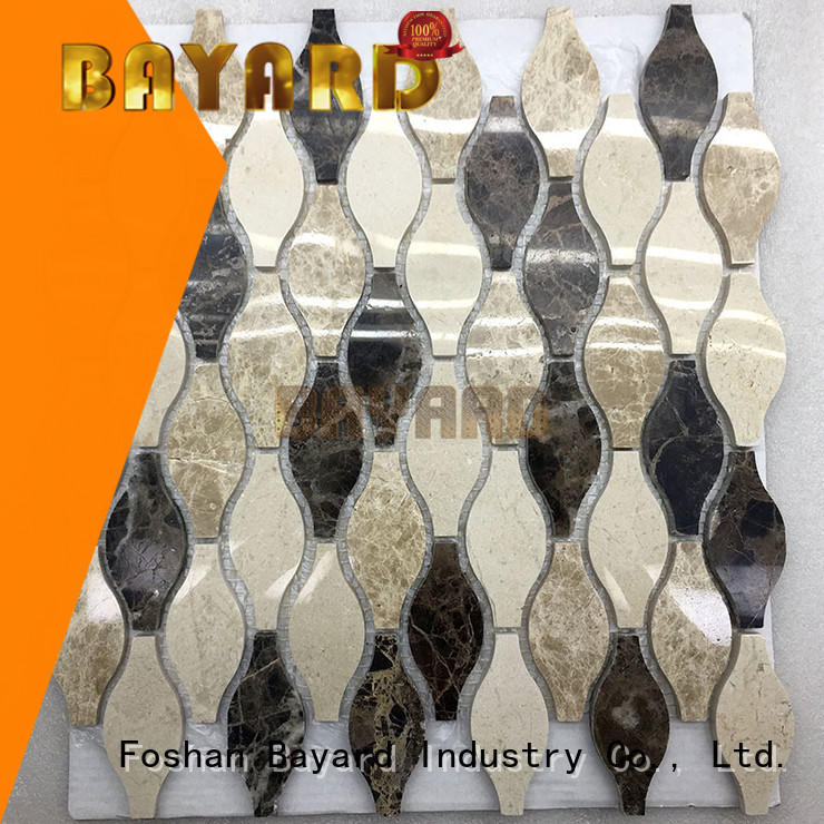Bayard fashion design mosaic tile supplies in china for wall decoration