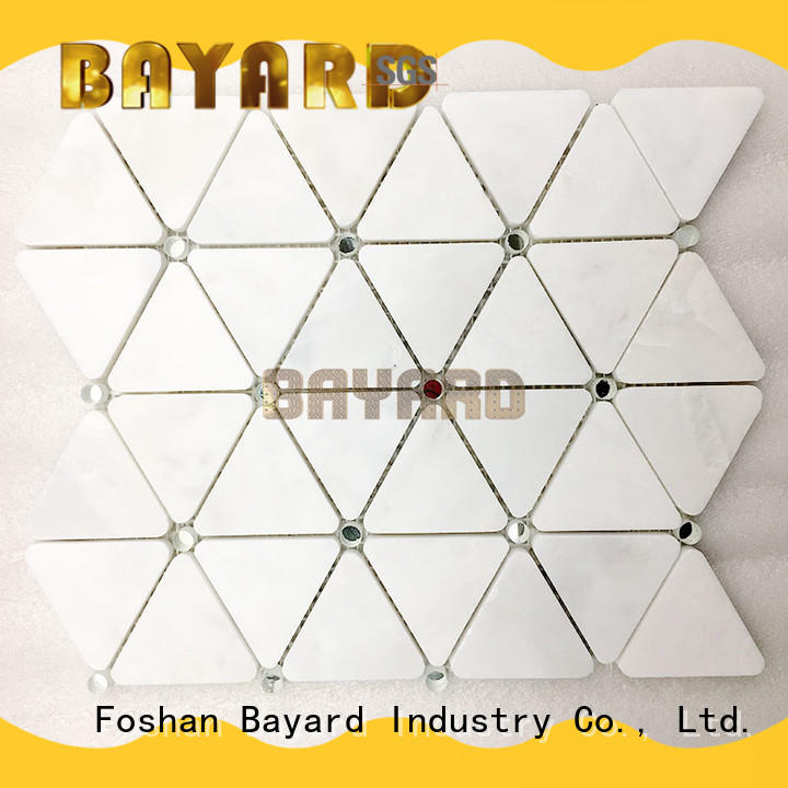 Bayard chips glass mosaic bathroom tiles owner for hotel lobby