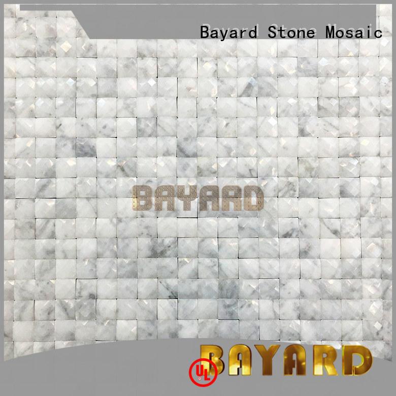 Bayard good-looking green mosaic bathroom tiles supplier for wall decoration