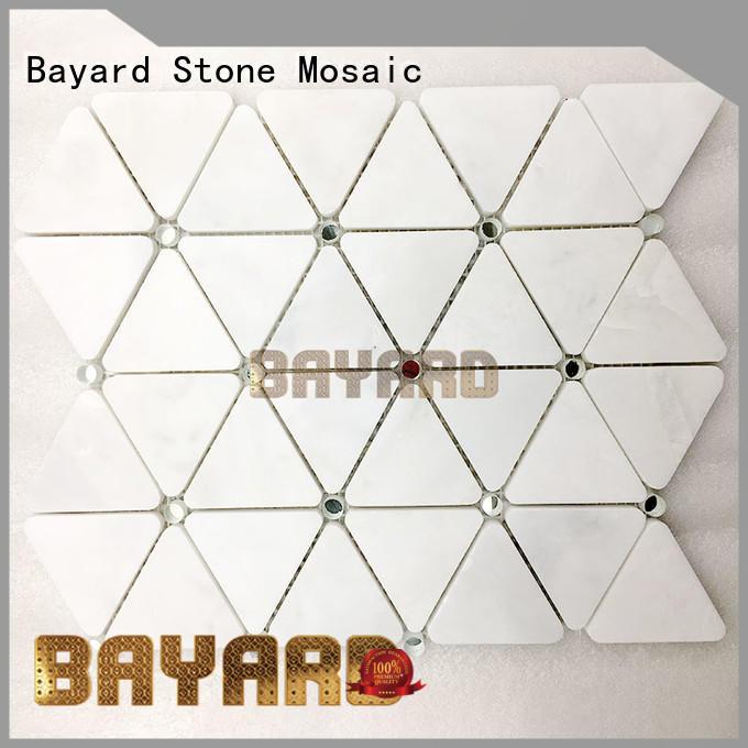 Bayard cool glass mosaic bathroom tiles overseas market for wall decoration