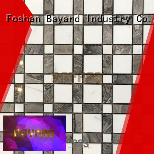 Bayard mix black and silver mosaic tiles grab now for wall decoration