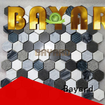 Bayard marble mosaic tile marble for swimming pool