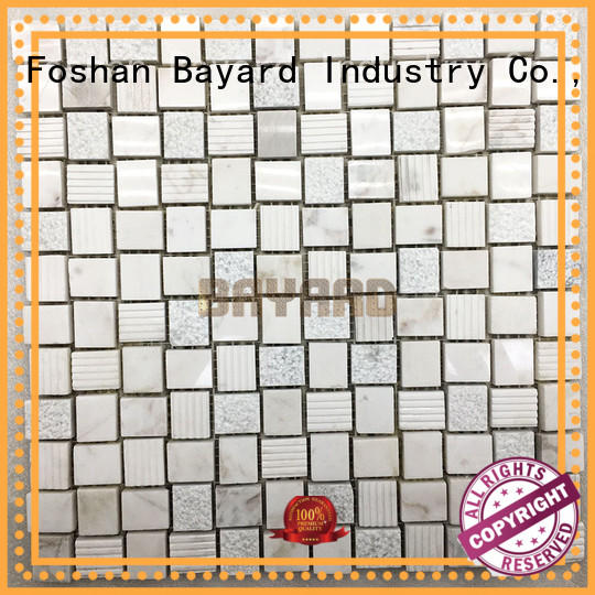 high reputation light grey mosaic tiles factory price for foundation