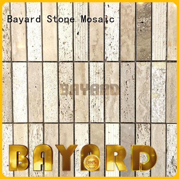 Bayard chic dark mosaic tile dropshipping for bathroom