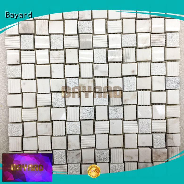 widely used black and grey mosaic tiles white in different shapes for wall decoration