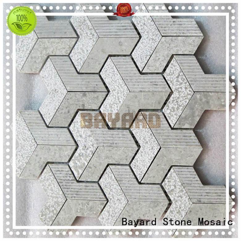 Bayard floor mosaic border tiles order now for bathroom
