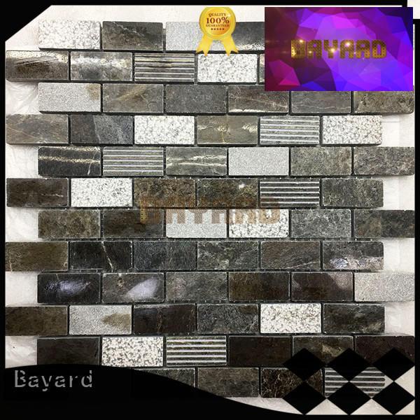 new arrival mosaic tile backsplash beige for hotel