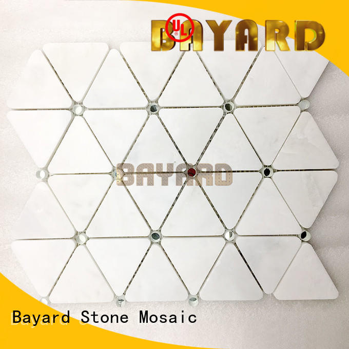 Bayard low cost decorative mosaic tiles owner for foundation
