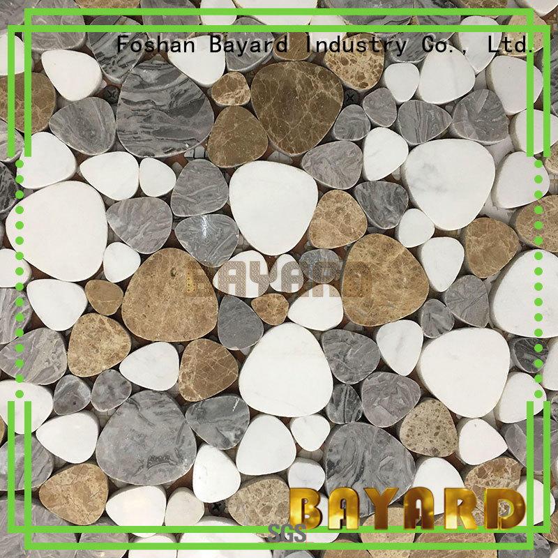 Bayard fashion design mosaic stones for wholesale
