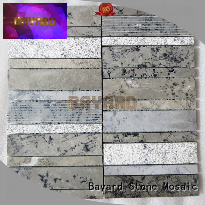 Bayard natural marble mosaic tile for wholesale for decoration