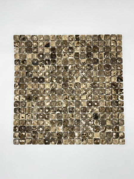 Diamond marble mosaic tile