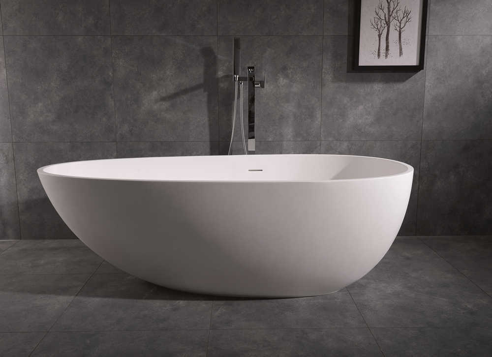 Best Solid Surface Resin Stone Bathtub Wholesale Supply